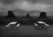 Picnic Tables, Monument Valley