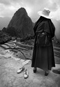 At Machu Picchu with Nun who walked into the frame
